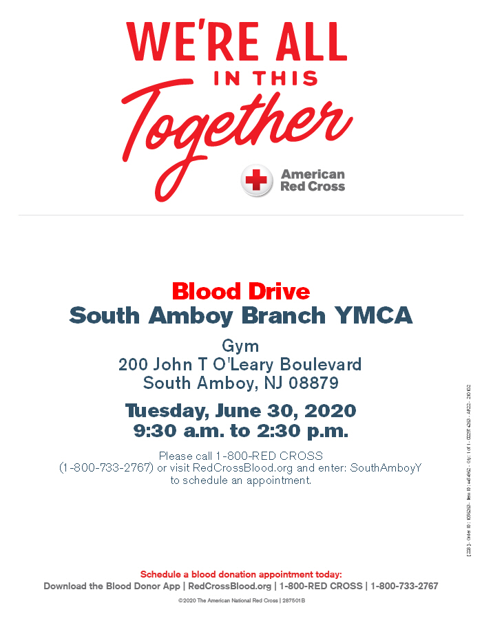 SAY Blood Drive June 30 2020